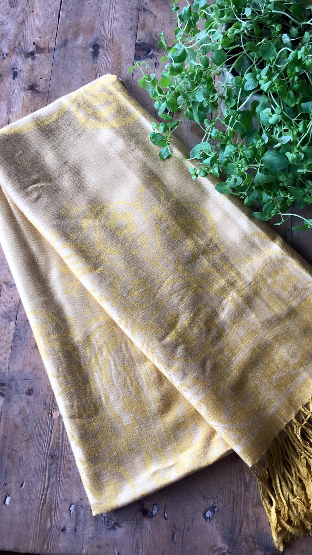 Silke & Cashmere skjerf - flere farger