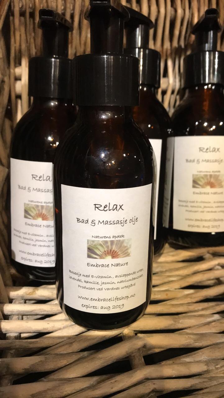 Relax massasje & badeolje